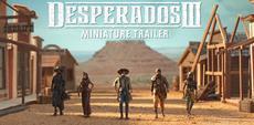 Es kommt eben doch auf die Größe an: Neuer Miniaturen-Trailer für Desperados III