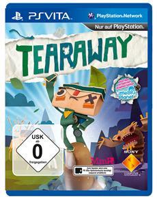 """Exklusiv f&uuml;r PlayStation<sup>&reg;</sup>Vita: Das neueste Meisterwerk der LittleBigPlanet<sup>&trade;</sup>-Macher - Tearaway<sup>&trade;</sup> - """"Das sch&ouml;nste Spiel des Jahres!"""""""
