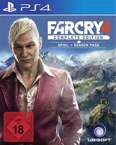 Far Cry 4 - Complete Edition ab 18. Juni 2015 für Playstation 4 und PC erhältlich