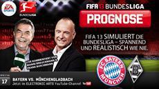FIFA 13 Bundesliga Prognose: Borussia Mönchengladbach will den Bayern ein Bein stellen
