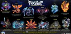 Final Fantasy EXPLORERS - Alle zwölf Beschwörungen in neuer Infografik