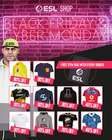 Free ESL gym bag - Black Friday Deal