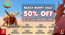Glyph 50% Beach Sale - Don't touch the sand!