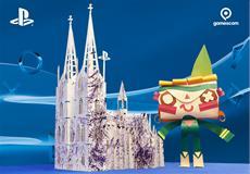 Gruß von Sony PlayStation an die Stadt Köln