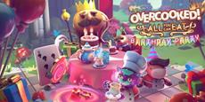 Join Kevin and The Onion King to celebrate Overcooked!'s fifth anniversary with free birthday content for Overcooked! All You Can Eat