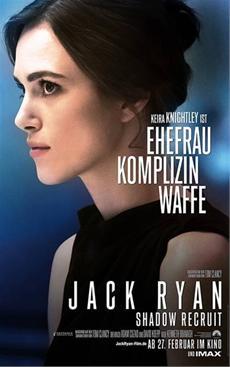 Keira Knightley in Action: JACK RYAN SHADOW RECRUIT (Kinostart: 27.02.2014)