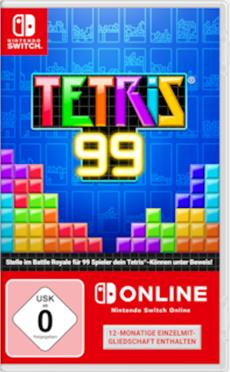 Klotzen statt kleckern: Tetris 99 erscheint als physische Version mit neuen Inhalten