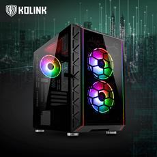 Kolink Micro-ATX-Gehäuse Citadel Glass SE und RGB-Controller Inspire L1 und L2 jetzt bei Caseking