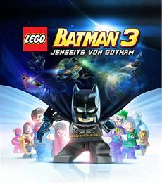 LEGO Batman 3: Jenseits von Gotham - Cover-Artwork und Packshots verfügbar
