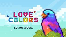 Love Colors - the paint by numbers pixel art game is coming to PC & Switch on September 17th!