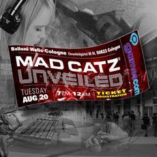 Mad Catz @ Gamescom 2013 | Unveiled Event und Messepräsenz