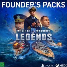 Mächtige Schiffe und exklusive Items mit den Gründerpaketen für World of Warships: Legends