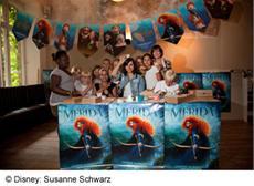 MERIDA - LEGENDE DER HIGHLANDS: Charity Back-Event mit Nora Tschirner und Cynthia Barcomi