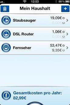 Mit neuer App die Stromkosten im Blick