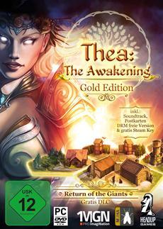 """Mit """"Thea: The Awakening"""" kommt eine packende Symbiose aus Strategie-, Survival- und Rogue-like-Spiel in den deutschen Handel"""
