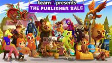 New content launches for Hammerting, Neon Abyss, and Crown Trick on Steam alongside Team17 publisher sale