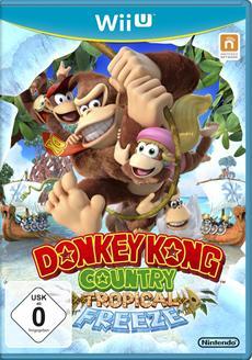 So cool wie heiß: Donkey Kong Country: Tropical Freeze erscheint exklusiv für Wii U
