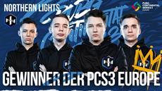 Northern Lights gewinnt die PCS3 Europe