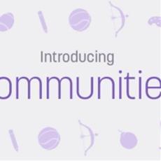 Offizielles FAQ: Communities sind hier!