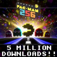 Pac-Man 256 feiert 5 Millionen Downloads