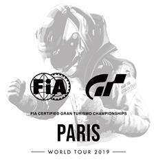 Paris ist Gastgeber für den Start der FIA-Certified Gran Turismo Championship Series 2019