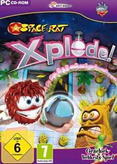 Space-Rat: Xplode! Protagonist Ziggy Space-Rat im Kampf gegen die fiesen Schrompfen
