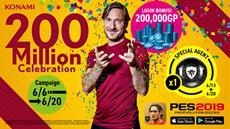 PES 2019 Mobile erreicht 200 Millionen Downloads