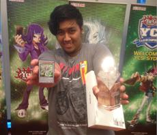 Peter Mitro gewinnt Yu-Gi-Oh! Championship Series in Sydney