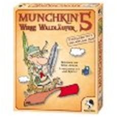 Review (Gesellschaftsspiel): Munchkin 5: Wirre Waldläufer
