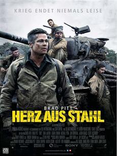 Review (Kino): Fury - Herz aus Stahl