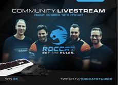 ROCCAT startet Community Stream