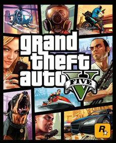 Rockstar Games: Offizielles Packshot-Motiv von Grand Theft Auto V