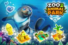 Sonne tanken beim Sommerevent in Zoo 2: Animal Park