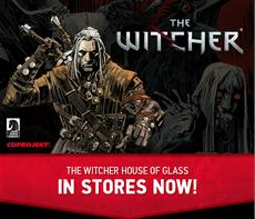 The Witcher House of Glass - Comic #1 ab jetzt erhältlich!