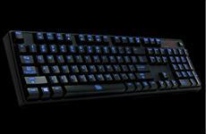 Tt eSPORTS POSEIDON Illuminated - Mechanische Premimum Gamingtastatur mit beleuchteten Tasten