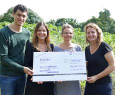 Über 4 000 Euro Spendengelder für CFI Internationale Kinderhilfe