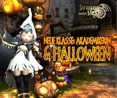 Update Dragon Nest Europe - neue Klasse & Halloween-Events