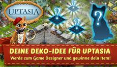 Uptasia Spieler werden zu Game Designern