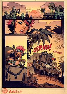 World of Tanks Blitz- und Tank Girl-Universen kollidieren
